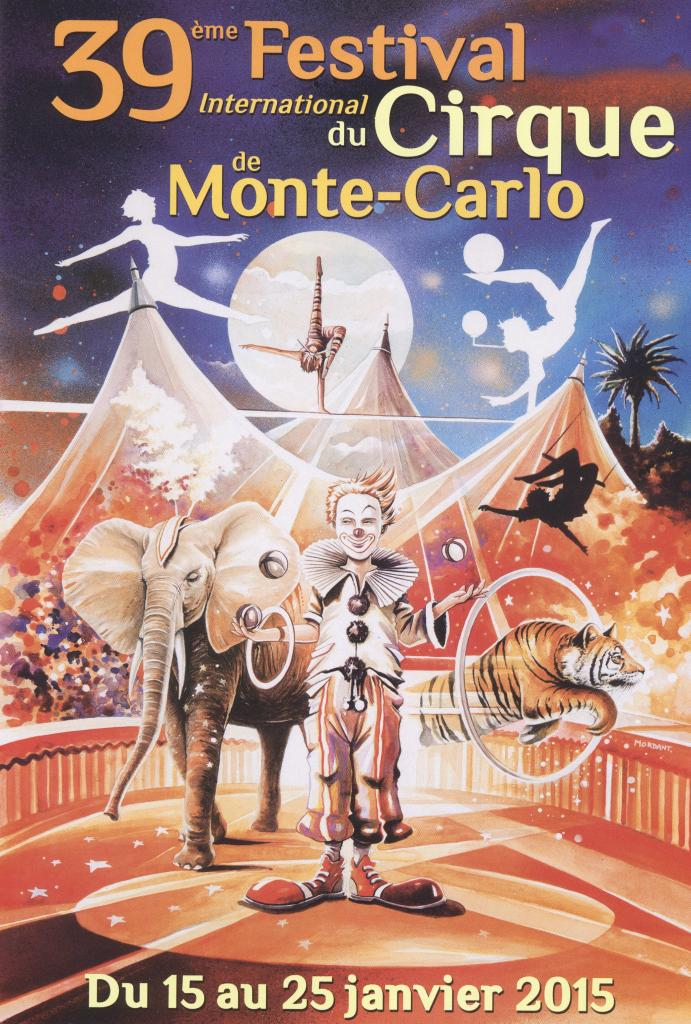 Festival International du Cirque de monte Carlo 2015