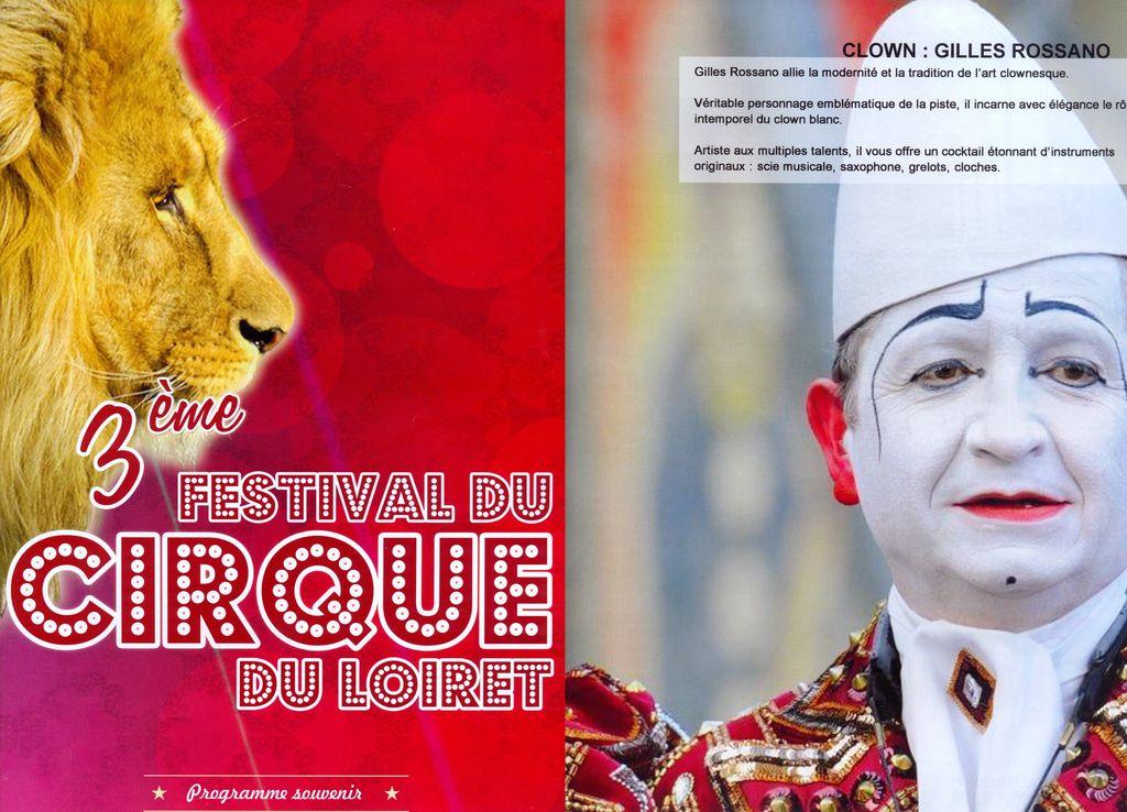 Festival du cirque du Loiret  2015